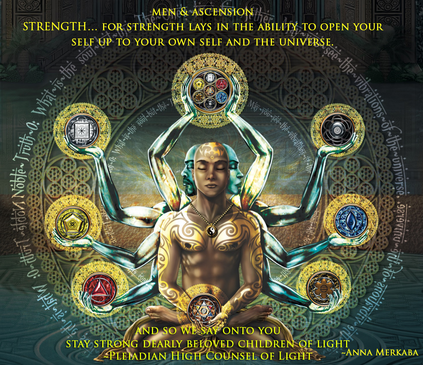 It's all about… MEN   Ascension – Pleiadian High Counsel of Light