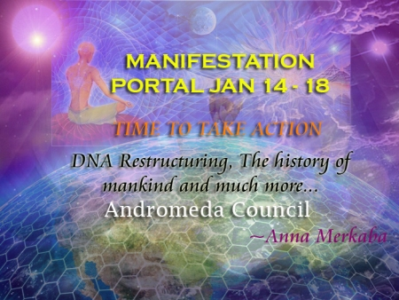 Manifestation Portal – Time to take Action – History of Mankind – Andromeda Council Activation-portal