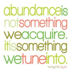 cita de la abundancia